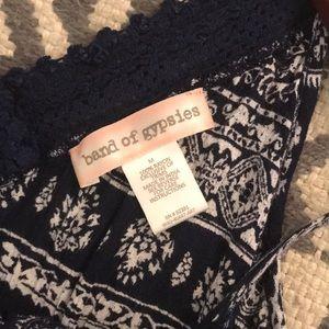 Band of Gypsies Pants - Band of Gipsies Romper boho flowy shorts